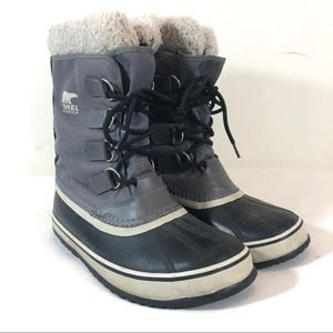 Sorel Winter Carnival Snow Boot in Pewter/Black